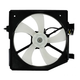 1AACF00027-Mazda Protege A/C Condenser Cooling Fan Assembly