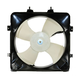 1AACF00004-Honda Civic Civic Del Sol A/C Condenser Cooling Fan Assembly