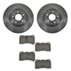 1ABFS00880-2003-06 Mitsubishi Lancer Evolution Brake Kit