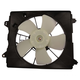 1AACF00130-Honda Civic A/C Condenser Cooling Fan Assembly Passenger Side