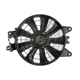 1AACF00123-Kia Sephia A/C Condenser Cooling Fan Assembly