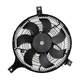 1AACF00121-2003-08 Infiniti FX45 A/C Condenser Cooling Fan Assembly