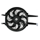 1AACF00140-A/C Condenser Cooling Fan Assembly