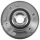 TKSHF00234-2009-13 Dodge Journey Wheel Bearing & Hub Assembly Front Driver or Passenger Side Timken HA590344
