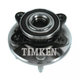 TKSHF00202-Wheel Bearing & Hub Assembly Front Timken HA590028