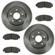1ABFS00858-Brake Kit Front  Nakamoto MD1089  45251-SWA-A00