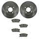 1ABFS00819-2004-06 Nissan Sentra Brake Pad & Rotor Kit Rear