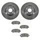 1ABFS00836-2009-12 Nissan Sentra Brake Pad & Rotor Kit Front
