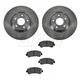 1ABFS00833-2007-08 Nissan Sentra Brake Pad & Rotor Kit Front