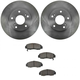 1ABFS00800-Honda Accord Civic Brake Pad & Rotor Kit Front