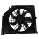 1AACF00170-BMW A/C Condenser Cooling Fan Assembly