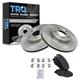 1ABFS00814-Brake Pad & Rotor Kit