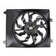 1AACF00166-2007-09 Hyundai Santa Fe A/C Condenser Cooling Fan Assembly