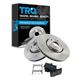 1ABFS00940-Lexus Brake Pad & Rotor Kit Front