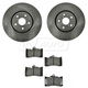 1ABFS00945-2007-11 Lexus GS350 Brake Pad & Rotor Kit Front
