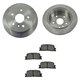 1ABFS00956-Brake Kit Rear  Nakamoto MD885  31322