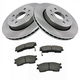 1ABFS00954-Kia Sephia Spectra Brake Kit