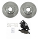 1ABFS00907-2010-13 Ford Transit Connect Brake Pad & Rotor Kit Front
