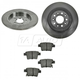 1ABFS00921-Brake Pad & Rotor Kit Rear