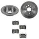1ABFS00933-Lexus IS250 Brake Kit Rear