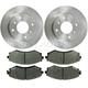 1ABFS00654-Brake Pad & Rotor Kit
