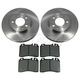 1ABFS00656-Volvo Brake Pad & Rotor Kit Front