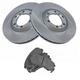 1ABFS00639-Brake Pad & Rotor Kit Front