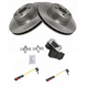 1ABFS00623-Mercedes Benz Brake Pad with Sensors & Rotor Kit Front