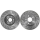 1ABFS00622-Mercedes Benz Brake Rotor Front Pair