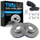 1ABFS00694-Brake Pad & Rotor Kit