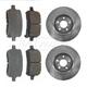 1ABFS00679-Brake Pad & Rotor Kit Front