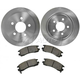 1ABFS00618-Brake Pad & Rotor Kit Rear