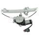 1AWRG01647-Nissan Window Regulator Driver Side Rear