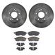 1ABFS00766-Infiniti I30 Nissan Maxima Brake Pad & Rotor Kit Front