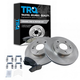 1ABFS00765-Infiniti I30 Nissan Maxima Brake Pad & Rotor Kit Front