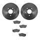 1ABFS00762-Infiniti I30 Nissan Maxima Brake Pad & Rotor Kit Rear