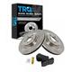 1ABFS00718-Brake Pad & Rotor Kit