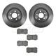 1ABFS00717-Brake Pad & Rotor Kit Front