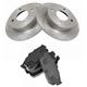 1ABFS00720-Brake Pad & Rotor Kit Rear