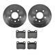 1ABFS00726-Saab 900 Brake Pad & Rotor Kit Rear