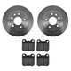 1ABFS00729-Brake Pad & Rotor Kit Rear