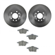 1ABFS00733-Brake Kit Front  Nakamoto CD819  34140