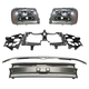 1ABGK00053-Chevy Grille  Header Panel & Light Set