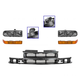 1ABGK00041-Chevy Blazer S10 S10 Pickup Grille  Headlights & Parking Lights Kit