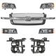 1ABGK00042-2003-04 Chevy Grille  Headlights & Parking Lights Kit