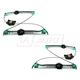 1AWRK01000-Mercedes Benz Window Regulator Pair