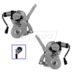 1AWRK01030-Window Regulator Pair