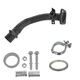 1AEMK00185-1998-02 Chevy Prizm Toyota Corolla Exhaust Pipe with Gaskets & Spring Bolt Kit Front