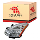 1ALHL02187-2011-12 Nissan Rogue Headlight Driver Side