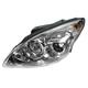1ALHL02167-2009-12 Hyundai Elantra Headlight Driver Side